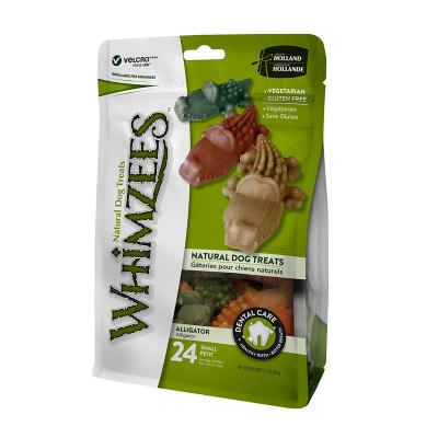 Whimzees Dental Alligator Small Treat For Dogs 7-12kg 24 Pack 360gm
