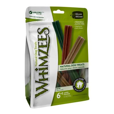 Whimzees Dental Stix Large Treat For Dogs 18-27kg 7 Pack 420gm