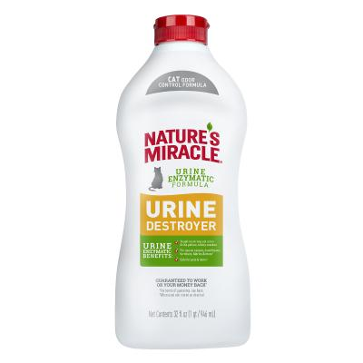 Natures Miracle Just For Cats Urine Destroyer Enzyme Cleaner Stain And Odour Remover For Cats 946ml