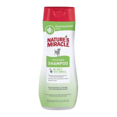 Natures Miracle Whitening Odour Control Flowering Almond Scent Shampoo For Dogs 473ml