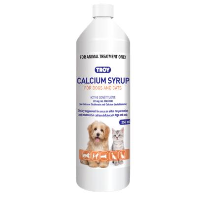Troy Calcium Syrup For Dogs And Cats 250ml