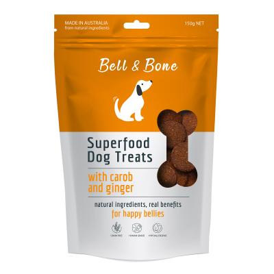 Bell And Bone Superfood Carob And Ginger Natural Treats For Dogs 150g