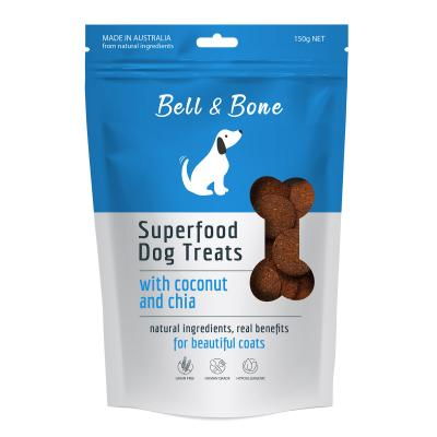 Bell And Bone Superfood Coconut And Chia Natural Treats For Dogs 150g