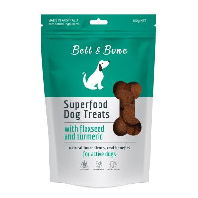 Bell And Bone Superfood Flaxseed And Turmeric Natural Treats For Dogs 150g