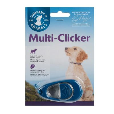 Company Of Animals Multi-Clicker Reinforcer Training Tool For Dogs Cats And Other Animals