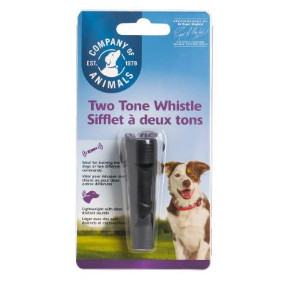 Company Of Animals Two Tone Whistle Reinforcer Training Tool For Dogs Cats And Other Animals