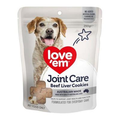Love Em Beef Joint Care Cookie Treat For Dogs 250gm