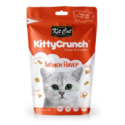 Kit Cat Kitty Crunch Salmon Treats For Cats 60gm