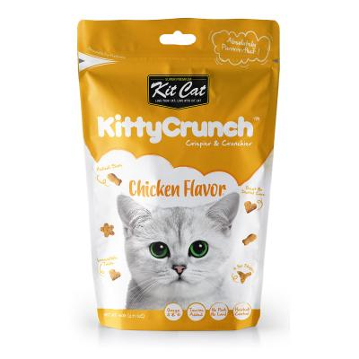 Kit Cat Kitty Crunch Chicken Treats For Cats 60gm