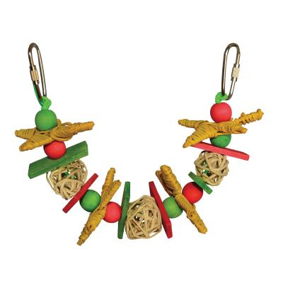 SuperBird Creations Christmas Garland Small Toy For Birds