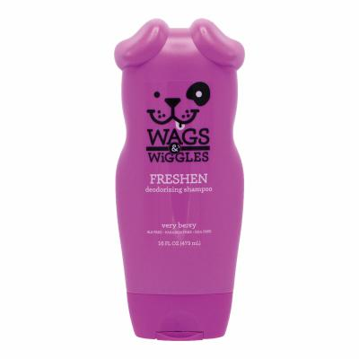 Wags & Wiggles Freshen Deodorizing Shampoo Very Berry For Dogs 473ml