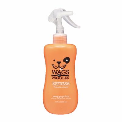 Wags & Wiggles Refresh Deodorizing Spray Grapefruit For Dogs 355ml