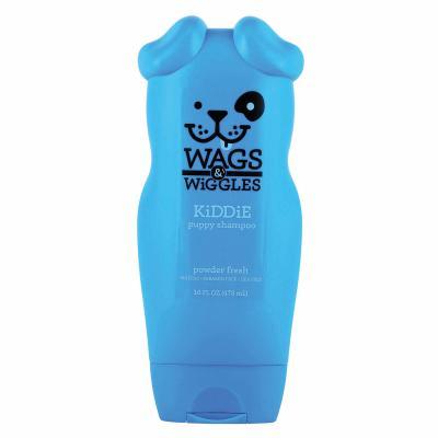 Wags & Wiggles Kiddie Puppy Powder Fresh Shampoo For Dogs 473ml