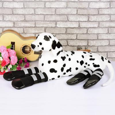 Zeez Waterproof Boots Black Shoes XXLarge For Dogs