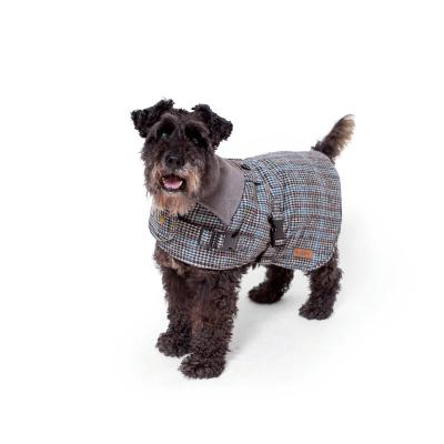 Kazoo Hemmy Dog Coat With Harness Hatch Grey XLarge 66cm