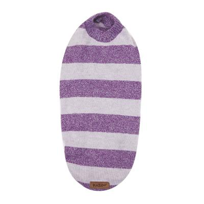 Kazoo Lilly Pilly Soft Knit Jumper Dog Coat Purple Small 40cm