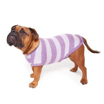 Kazoo Lilly Pilly Soft Knit Jumper Dog Coat Purple XSmall 33.5cm