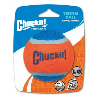 Chuck It Tennis Ball Large Fetch Toy For Dogs 8cm 1 Pack