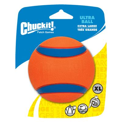 Chuckit Ultra Ball XLarge Fetch Rubber Toy For Dogs 9cm 1 Pack