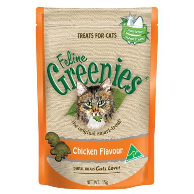 Greenies Feline Dental Treats Chicken Flavour For Cats 85gm