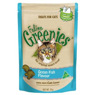 Greenies Feline Dental Treats Fish Flavour For Cats 85gm