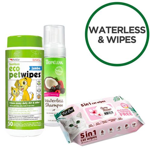 Waterless & Wipes