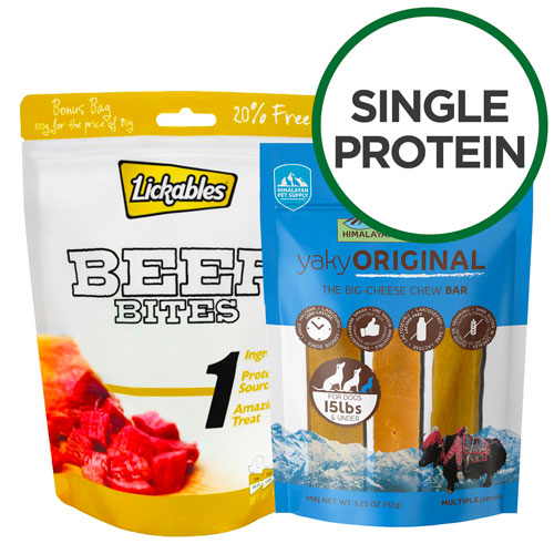 Single Protein Treats