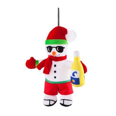 Kazoo Christmas Summer Snowman Plush Medium Toy For Dogs