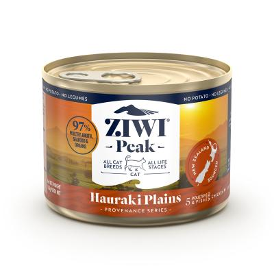 Ziwi Peak Provenance Hauraki Plains Grain Free Canned Wet Meat All Life Stages Cat Food 170gm x 12