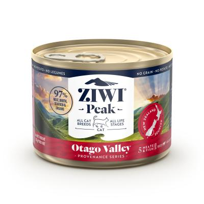 Ziwi Peak Provenance Otago Valley Grain Free Canned Wet Meat All Life Stages Cat Food 170gm x 12