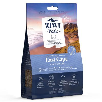 Ziwi Peak Provenance East Cape Air Dried Grain Free All Life Stages Cat Food And Topper 128gm