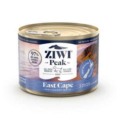 Ziwi Peak Provenance East Cape Grain Free Canned Wet Meat All Life Stages Dog Food 170gm x 12