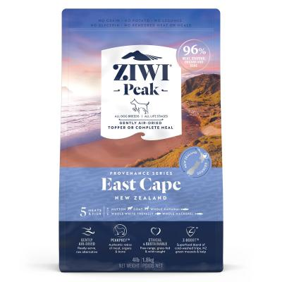 Ziwi Peak Provenance East Cape Air Dried Grain Free All Life Stages Dog Food And Topper 1.8kg