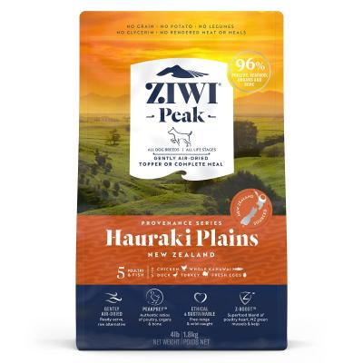 Ziwi Peak Provenance Hauraki Plains Air Dried Grain Free All Life Stages Dog Food And Topper 1.8kg