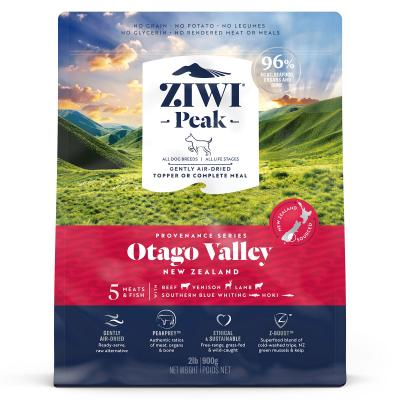 Ziwi Peak Provenance Otago Valley Air Dried Grain Free All Life Stages Dog Food And Topper 900gm
