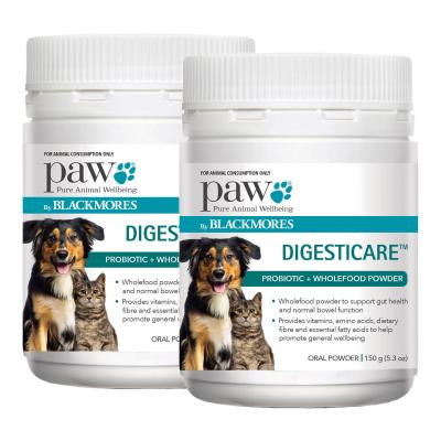 PAW By Blackmores DigestiCare Probiotic For Cats And Dogs 300gm (150gm x 2)