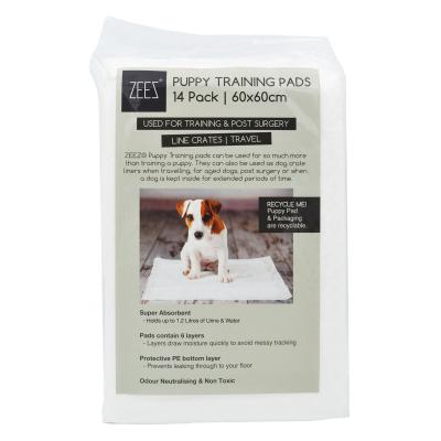 ZEEZ Toilet Training Pads For Puppy And Dogs 14 Pack