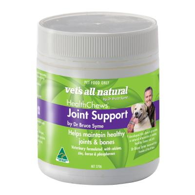 Vets All Natural Joint Support Health Chews For Dogs 270g