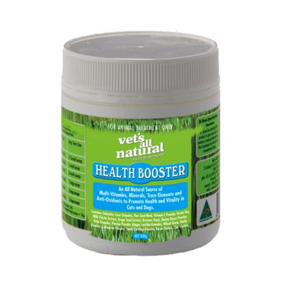 Vets All Natural Health Booster Powder Nutritional Supplement For Dogs 500g