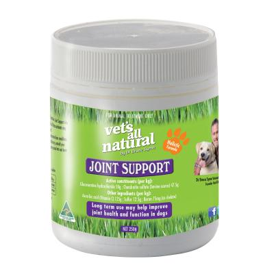 Vets All Natural Joint Support Powder Nutritional Supplement For Dogs 250g
