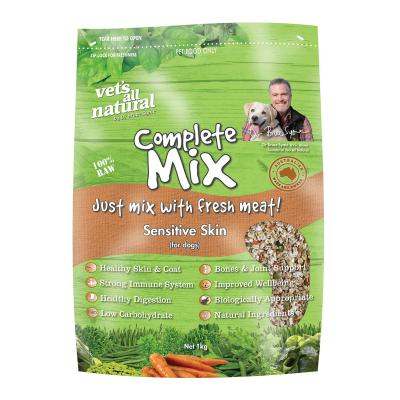Vets All Natural Complete Mix Sensitive Skin Raw Dog Food 1kg