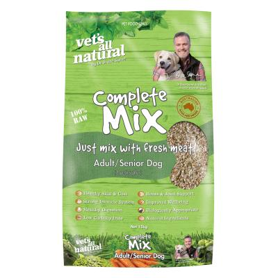 Vets All Natural Complete Mix Adult/Senior Raw Dog Food 15kg