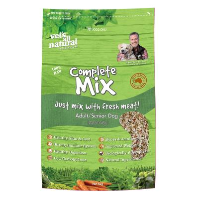 Vets All Natural Complete Mix Adult/Senior Raw Dog Food 5kg