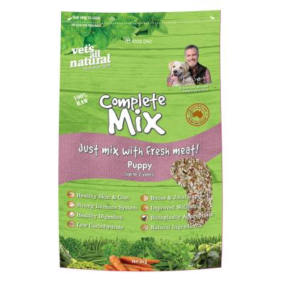 Vets All Natural Complete Mix Puppy Raw Dog Food 5kg