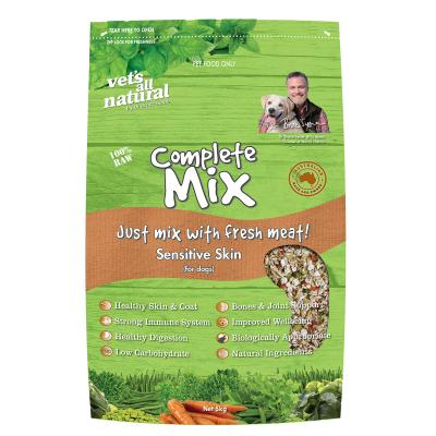 Vets All Natural Complete Mix Sensitive Skin Raw Dog Food 5kg