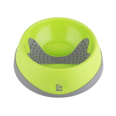 LickiMat OH Oral Health Bowl Green Medium For Dogs