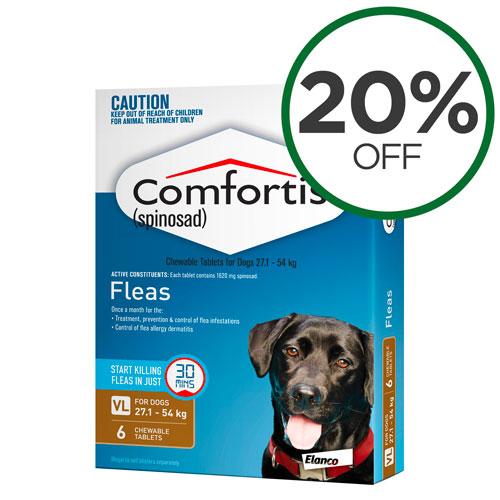Comfortis 6 Packs
