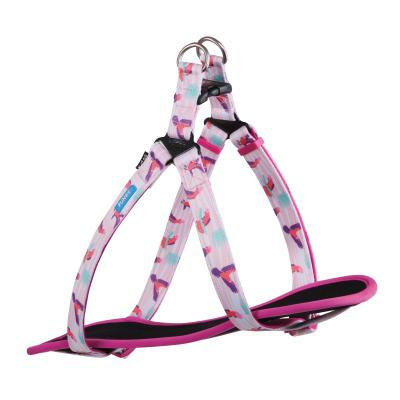 Kazoo Funky Nylon Walking Harness Galahs Large/XLarge 77-99cm x 25mm For Dogs