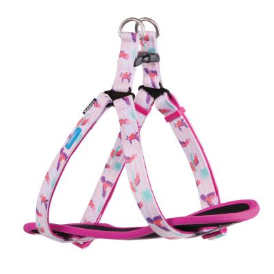 Kazoo Funky Nylon Walking Harness Galahs Medium 53-77cm x 20mm For Dogs
