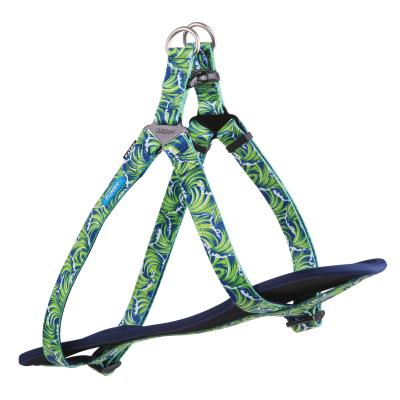 Kazoo Funky Nylon Walking Harness Waves Large/XLarge 77-99cm x 25mm For Dogs